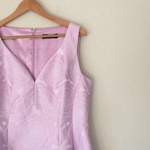 Ivanka Trump Lavender Rose Damask Dress